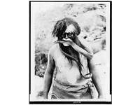 1967 Hippie She Comes In Color Poster Original printing Body Paint