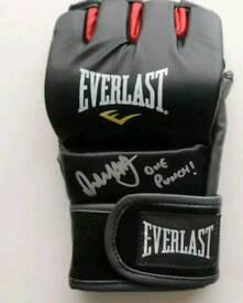 Brad Pickett signed MMA glove with Coa