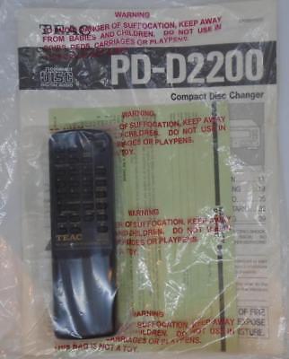 Original Teac RC-505 CD WECHSLER FERNBEDIENUNG für pd-d2200 pd-d1200 with