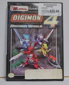 K047089 - Digimon 4 pour gamecube - InstantComptant.ca