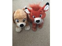 Disney Todd and Copper Teddies
