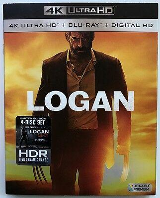 Marvel Logan Blu Ray 1 Disc Set   Slipcover Free World Shipping Wolverine X Men