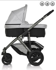 Smile Grey Pram with Carrycot (RRP £410)