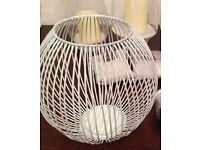 Candle holder - wire