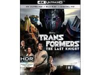 Transformers the last knight 4k blu ray