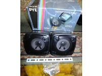 New Pye stereo speakers 30 watts