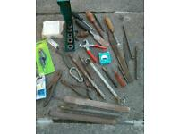 Various types of Tools £1 each