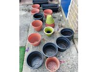 Selection of Garden Pots - Free to collect