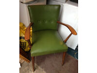 armchair antique retro a j allen high wycombe chair Chapel lane