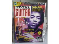 Large Collection of Early Total Guitar Magazines including CDs and more