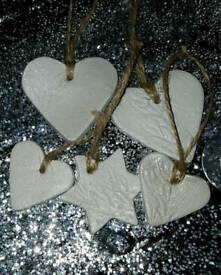 Clay gift tags (or decorations!)