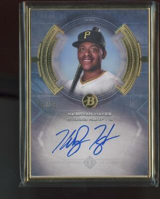 2020 Topps Transcendent Gold Ke'Bryan Hayes 5/25 Auto Autograph RC Rookie