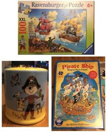 Pirate Jigsaws & Money Box