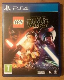 Lego Star Wars, The Force awakens, PS4 game. Excellent condition, played once.