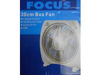 30cm Box Fan - Not used