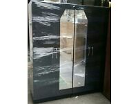 4 door Wardrobe fittment with fitted mirrors