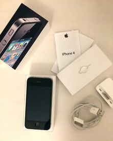 Apple iPhone 4 16GB Black Unlocked Smartphone