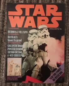 Star Wars posters/ booklets