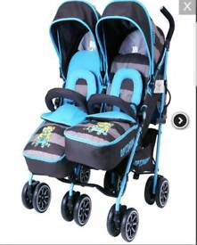 Double buggy with all accessories