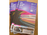 4 New,Sealed BT Phone Books Residential Directories Croydon 2017/2018.