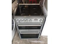 HOTPOINT Digital Nice Fully Gas Cooker 60cm wide & Fully Working Order