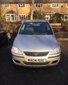 Vauxhall Corsa 2004 12 Months MOT
