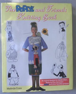 The Popeye and Friends Knitting Book by Melinda Coss Olive Oyl Sweet Pea Hagar](Popeye And Sweet Pea)