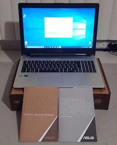 """Ultrabook Asus S56CA i5 1.70GHz / MEM 6GB / DD 500 / Ecran 15.6"""" / Win 10 Pro x64 Fr ou En"""