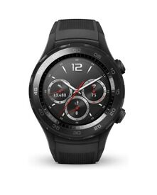 Huawei watch 2 sports black excellent condition rarely worn with box and all accessories