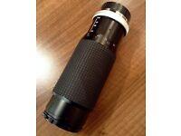 Hoya 100-300mm non digital zoom lens.
