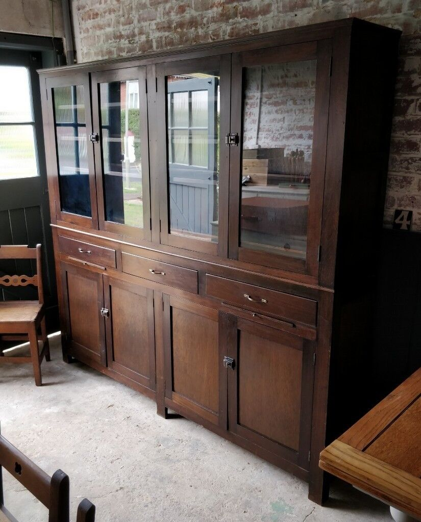 Large Doctors Cabinet, Apothecary Cabinet, Large Display Cabinet, Vintage Pharmacy  Cabinet, Shop