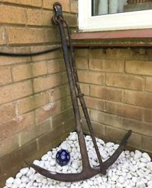 Antique Ships Anchor Wrought Iron