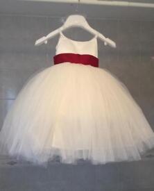 Stunning toddler flower girl / bridesmaid dress - shop price £190