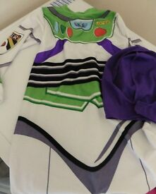 Toy Story Buzz Lightyear fancy dress costume age 5-6 yrs. Collection Shepshed (or can post).