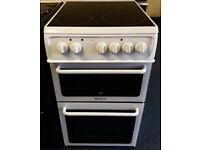£150 Hotpoint 50cm Ceramic Cooker - 6 Months Warranty