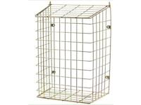 Post mail guard cage for front door pet dog