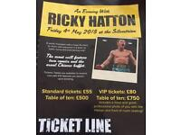 An evening with Ricky Hatton