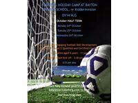 Football Holiday Camp at Bayton Primary School October Half Term