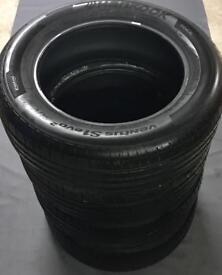 4 Hankook Ventus S1 Evo tyres 235/60 R18 103V