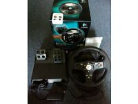 Logitech DriveFX Racing Wheel (Xbox 360)