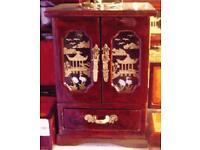 Handmade Chinese Cork Jewellery Box