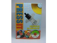 Brand New & Boxed PressIT Labeller The Complete CD labeling Kit