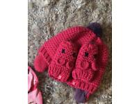 Joules hat and mits