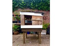 Duck/Chicken House - made from reclaimed timber