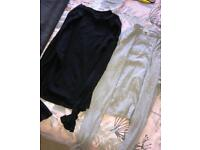 Size 16 black and grey polo jumpers river island
