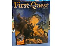 RARE! Collectors Vintage RPG - First Quest Advanced Dungeons & Dragons (2nd Edition 1994) Board Game