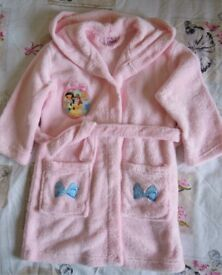 Disney princesses dressing gown 4-5 years old
