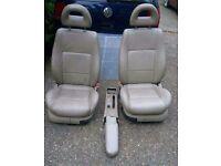 2001 VW Bora Cream Leather seats and Door Cards