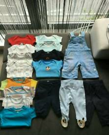 Clothes for boys 0-3 months