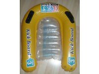 Intex 1-2-3 Pool School Inflatable Kick Board Float Swimming Aid – age 4 and over